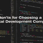 3 Don'ts for Choosing a Web Portal Development Company